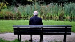 No Way Old Man In Park Not Thinking About Dead Wife