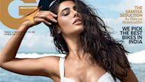 Nargis spicing up in white bikini