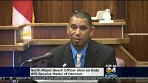 North Miami Beach Officer To Be Awarded Medal