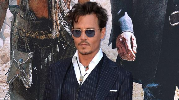 Johnny Depp's 'The Lone Ranger' Premiere