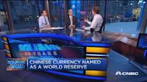 IMF to include Chinese yuan to its reserve currency baske...