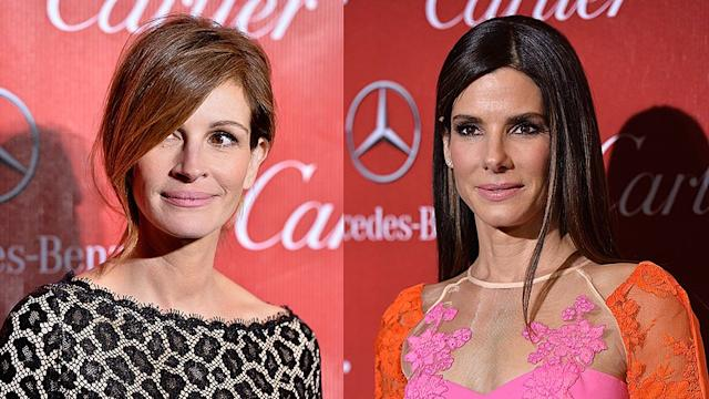 Which Sexy Star Do Sandra Bullock and Julia Roberts
