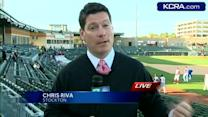 River Cats in Stockton for exhibition game