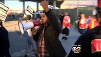 Truck Drivers At Ports Of Los Angeles, Long Beach Strike