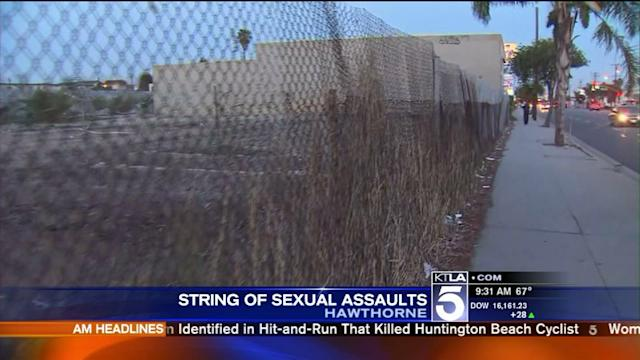 Attacker Sought in Pair of Sex Assaults in Hawthorne
