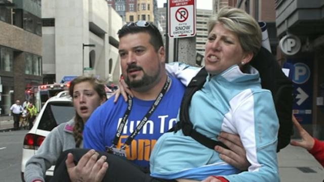 Ex-Patriots Players Come to Rescue at Boston Bombing