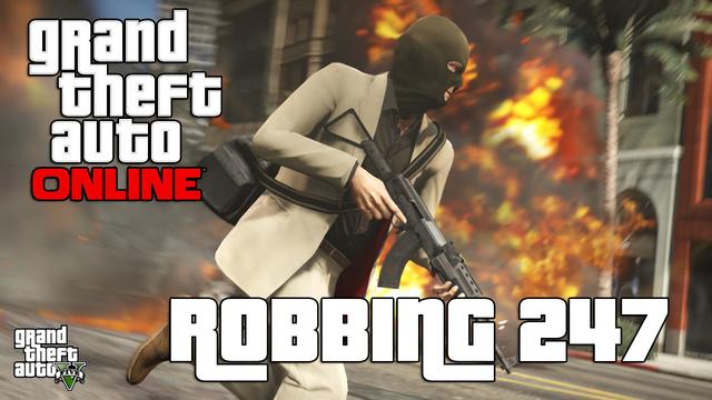 How to Rob a Store in GTA Online - Gameplay