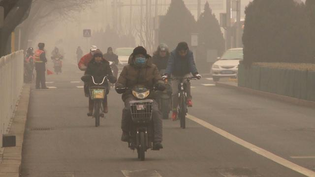 New guidelines tell Chinese residents to stay home on bad pollution days