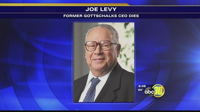 Joe Levy, former Gottschalks CEO, dies at 82