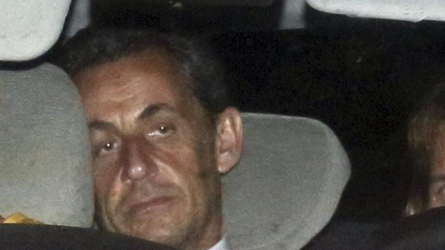 Former French president Nicolas Sarkozy charged