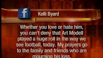 Noon: Social media reaction to Modell death