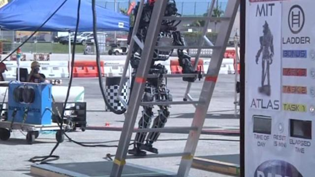Finalists chosen in robotic competition