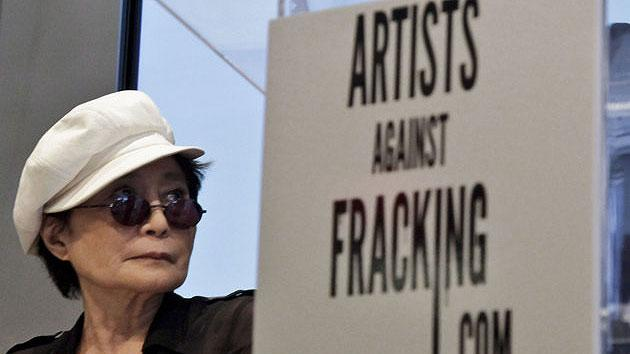 Yoko Ono, son launch anti-fracking coalition