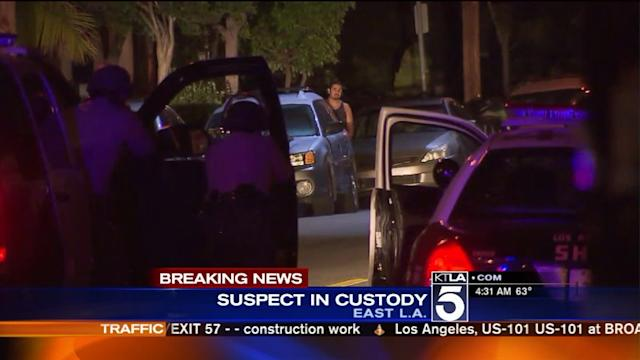Man in Custody After Standoff With Deputies in East L.A.