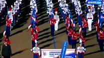 Londonderry Lancers march in inauguration parade