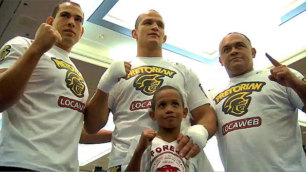 Junior dos Santos makes a boy's dream come true