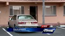 Police: Woman stabs father of children in Palm Springs
