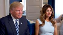Donald and Melania Trump on Campaign's Best and Worst Moments