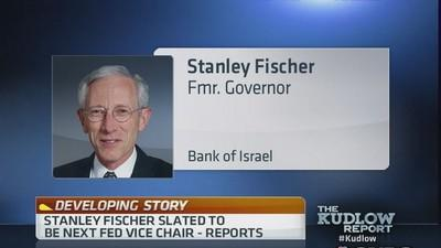 Stanley Fischer slated to be next Fed vice chair