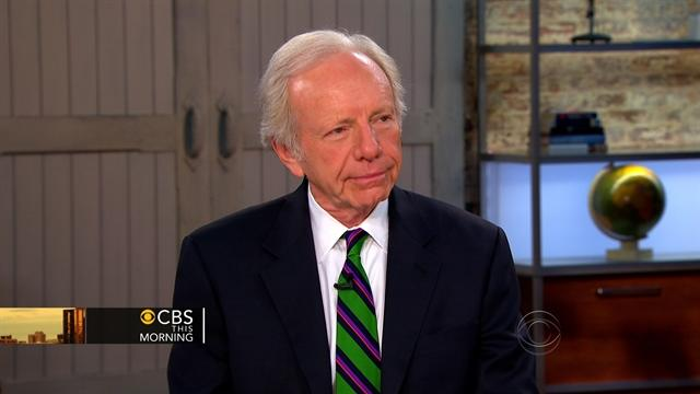 Sen. Lieberman on Syria: I'd give the rebels weapons