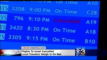 FAA Restricts All Flights To Israel
