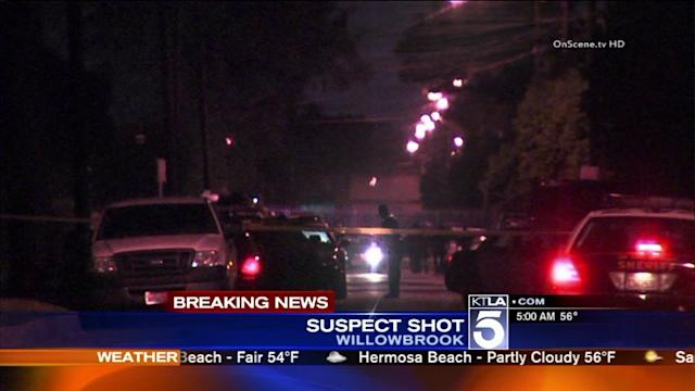 Man Wounded in Willowbrook Deputy-Involved Shooting