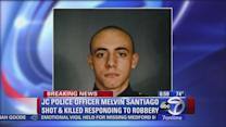 Jersey City police officer shot and killed responding to robbery