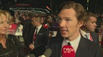 Benedict Cumberbatch on working with Johnny Depp