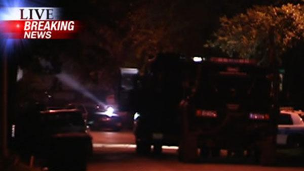 SWAT standoff ends with man in custody