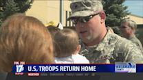 Soldier Reunites With Baby Daughter