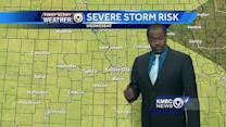 Cold front could bring storms overnight, early Wednesday