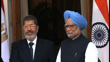 India, Egypt sign seven pacts in Delhi