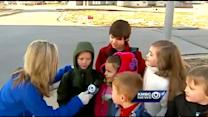 FirstNews goes to Raymore for bus stop shout-out