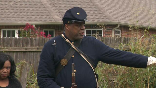 WATCH: Civil War Reenactor Discovers His Family History While Studying Overlooked Black Soldiers