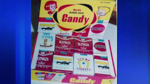 Government crackdown on candy cigarettes