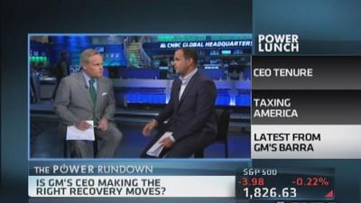 Power Rundown: CEO tenure, taxes & more