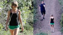 Taylor Swift Explains Hiking Backwards
