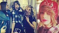 Taylor Swift Chops Off Hair & Late Night With Ellie Goulding