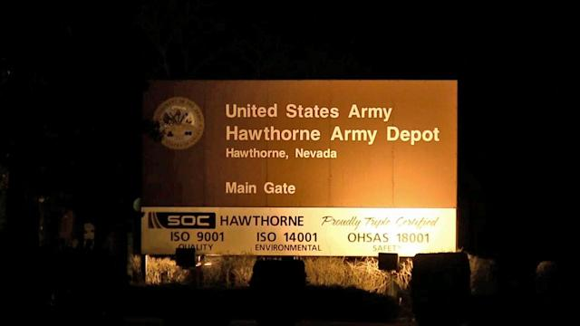 7 Marines killed in explosion during training exercise at Hawthorne Army Depot