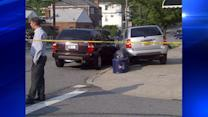 3 pedestrians hurt when driver hits parked cars in Bronx