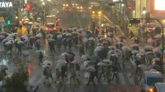Heavy snow warnings issued for Tokyo
