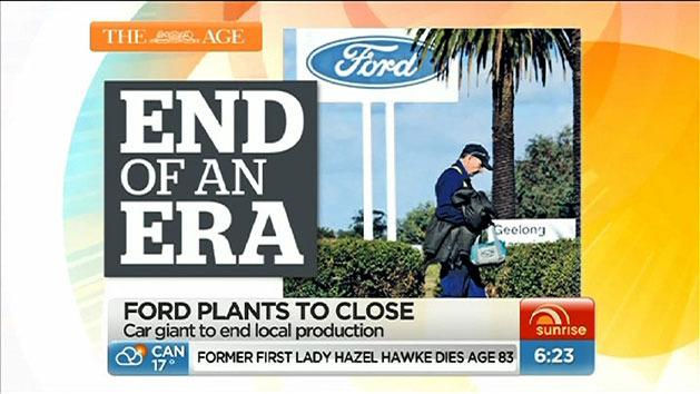 Ford to cease Aus operations