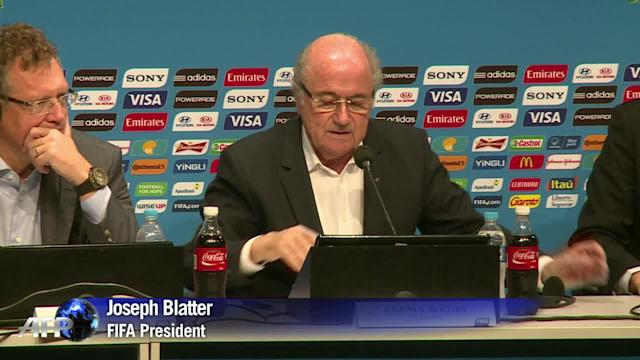 World Cup: Blatter gives tournament 9.25 out of ten
