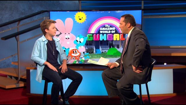 Actor Jacob Hawkins Discusses 'The Amazing World Of Gumball' On Cartoon Network