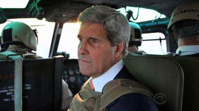 Kerry visits Mideast in hope of solution to Iraq crisis
