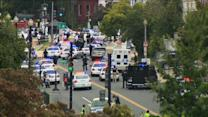 Shots fired outside US Capitol, triggering lockdown