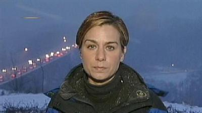 Marcie Cipriani Reports On Snowy Conditions In Pittsburgh
