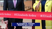 Elizabeth Arden's red ink; Home Depot springs forward; BHP Billiton demerger