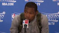 Postgame: Durant and Westbrook