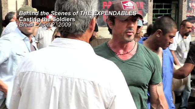 Behind the Scenes: Casting the Soldiers
